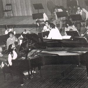 Performing with orchestra